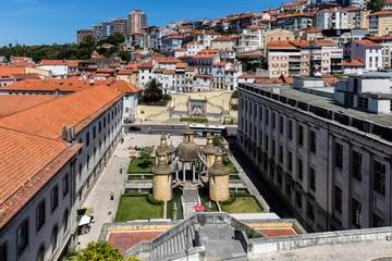 Manga Cloister in Coimbra, Portugal.