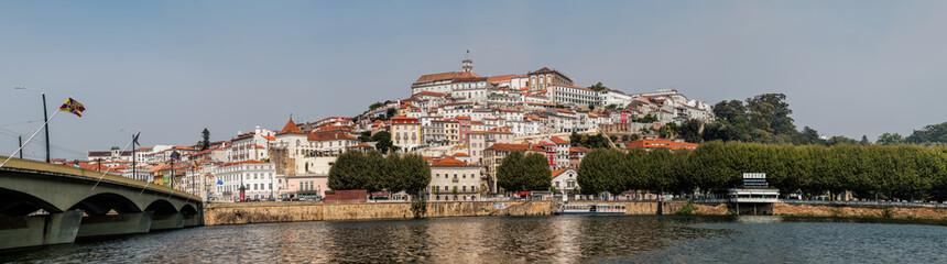 Panorama of Coimbra, Portugal
