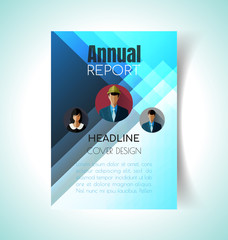 report cover design