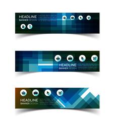 Horizontal Banner set 1
