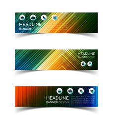 Horizontal Banner set 4