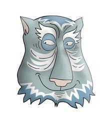 Fatasy face animal