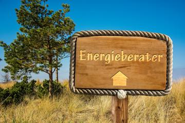 Schild 249 - Energieberater