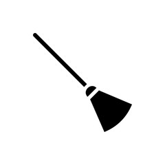 broom icon illustration