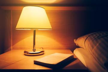 Retro bedside lamp