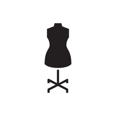 mannequin icon illustration