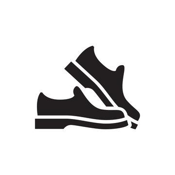 man shoe icon illustration
