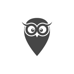 Owl icon, Owl logo, Owl illustration