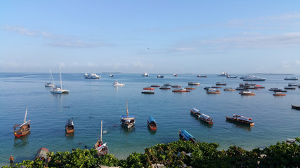 Sansibar Stonetown Hafen