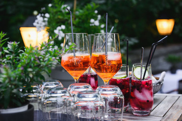 cocktail auf dem event