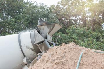 cement mixers car
