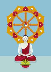 Buddha and Noble Eightfold Path
