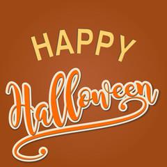 happy halloween celebration card