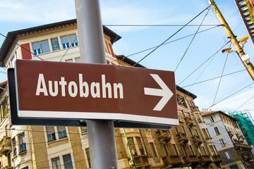 Schild 223 - Autobahn