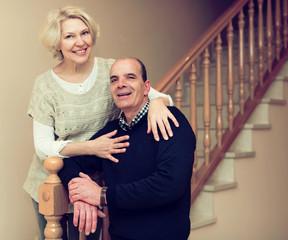 Comfortable life of elderly couple