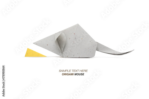 Origami Mouse Gray Stock Photo And Royalty Free Images On Fotolia