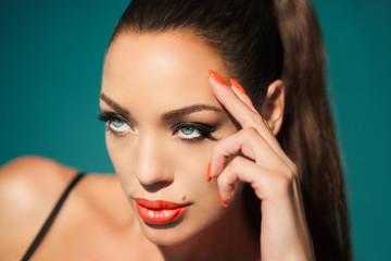 Foto op Plexiglas Beauty Beautiful Woman
