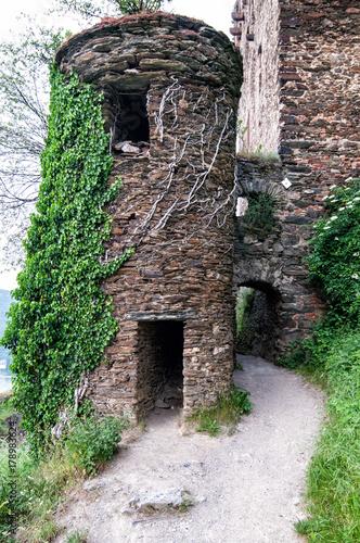 Wall mural Rheinfels Castle Germany