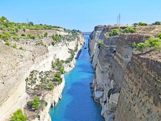 Canal de Corinto, Corinto, Grecia, Europa