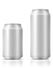 beer in can stock vector illustration