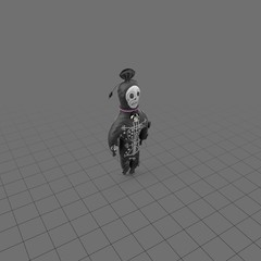 Voodoo doll for Halloween