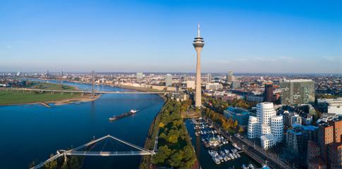 Düsseldorf from above