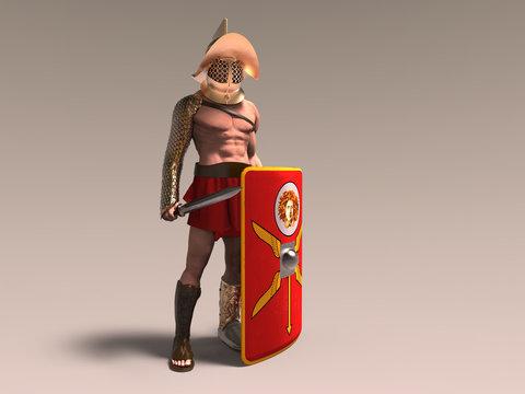 Gladiador murmillo