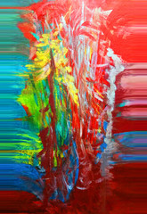 Abstract. Abstraction. Painting. Colorful. Color