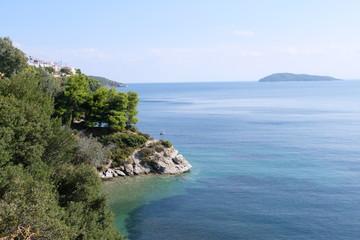 Beautiful Greek coast