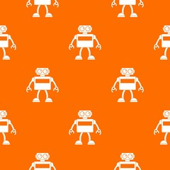 Android robot pattern seamless