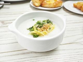 Korean rice porridge