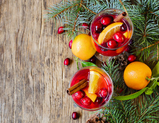 Cranberry and orange drink