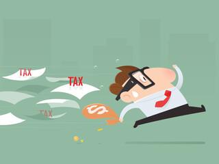 Businessman Tax avoidance