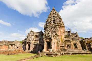 Prasat Hin Phanom Rung or Phanom Rung Stone Castle is a Khmer temple complex set on the rim of an extinct volcano at 402 metres (1,319 ft) elevation, in Buriram Province, Thailand.