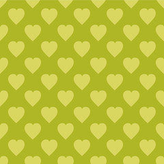 Pattern with hearts. Flat Scandinavian style for print on fabric, gift wrap Vector illustration Seamless background