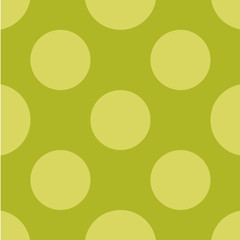 Polka dot seamless pattern. Dotted background with circles, dots, rounds Vector illustration Flat Scandinavian style