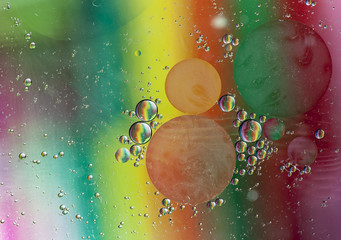 Oil and Water Liquid