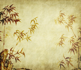 Traditional chinese painting Bamboo