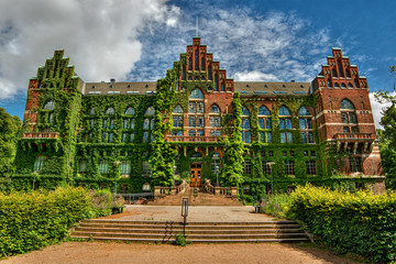 Library in Lund, Sweden