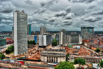 Cityscape of Birmingham (England)