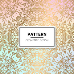Indian floral luxury ornament pattern.