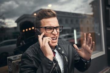 Emotionally talking on the phone