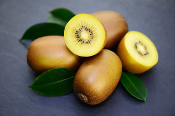 Kiwi Blätter
