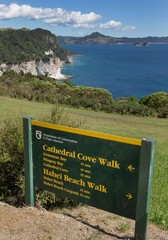 Printed roller blinds Cathedral Cove Cathedral Cove Coromendal New Zealand