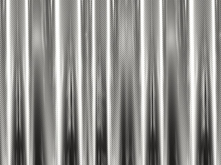 A silver silk curtain background with halftone pattern