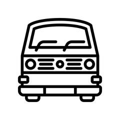 Transport - Camper Van - (Outline)