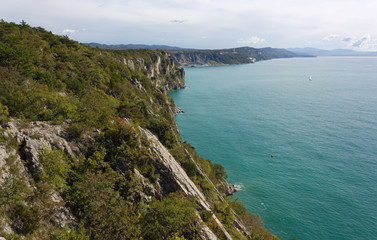 Northern Adriatic Coastline near Trieste