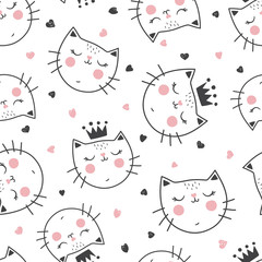 queen cat pattern