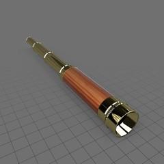 Handheld naval telescope