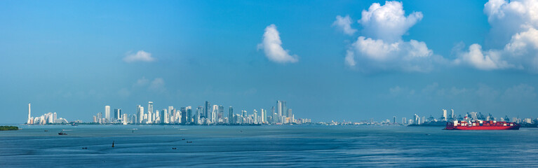 Cartagena, Colombia - view from sea
